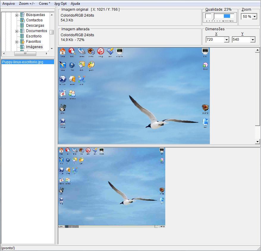 dcJPG: Optimiza ,reduce y redimensiona imágenes.