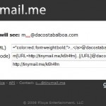 tinymail evita spam email