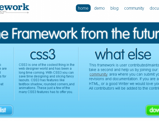Framework, para trabajar con HTML5 y CSS3
