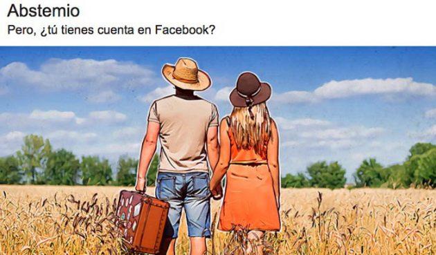 Abstemio redes sociales