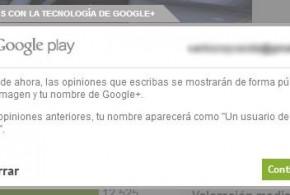 Aceptar nuevas condiciones de Google