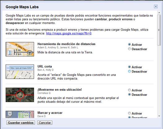 Acortador urls google maps
