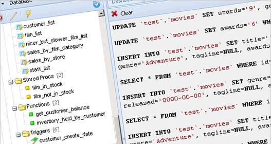 AeroSQL, administrar MySQL online.