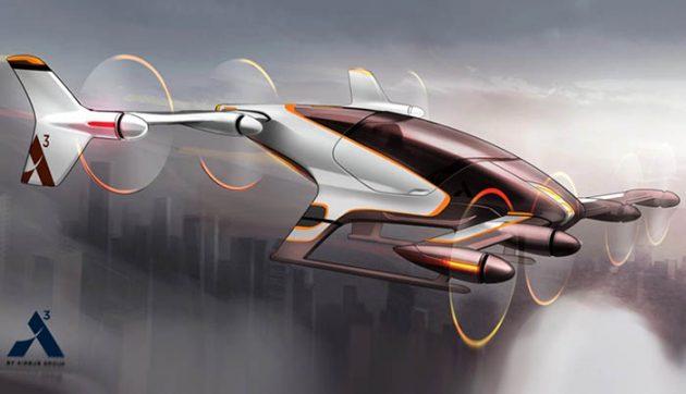 Airbus Coche Volador