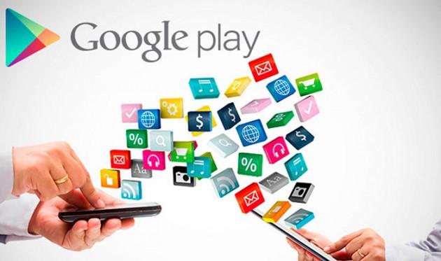Aplicaciones Google Play