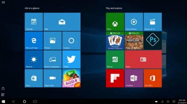 Aplicaciones patrocinadas Windows 10