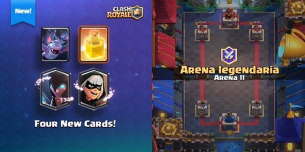 Arena 11 Legendaria