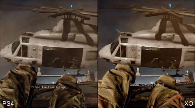 BF 4 de Xbox One vs PS4