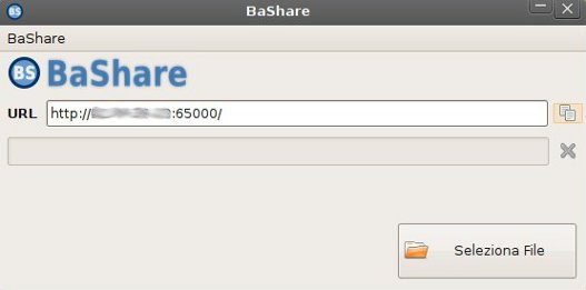 BaShare, compartir ficheros facilmente.