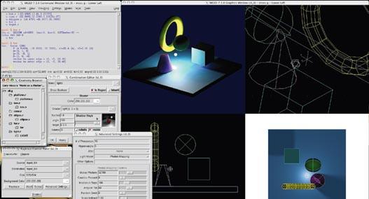 Brl-CAD, alternativa AutoCAD para Linux