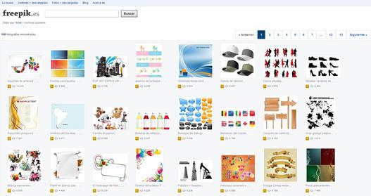 Buscador imagenes vectoriales