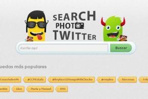 Buscar fotos en Twitter