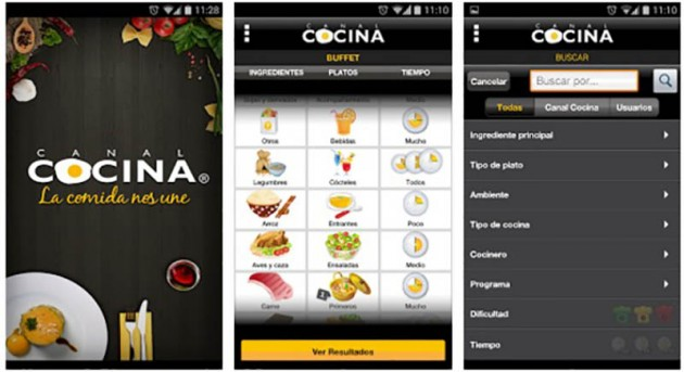 Canal Cocina Android