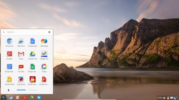 Chrome OS y Ubuntu