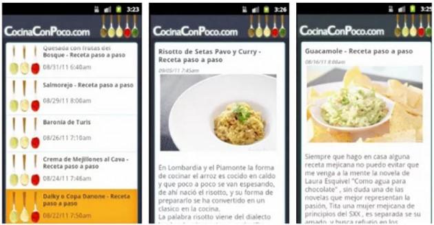 Cocina con poco Android
