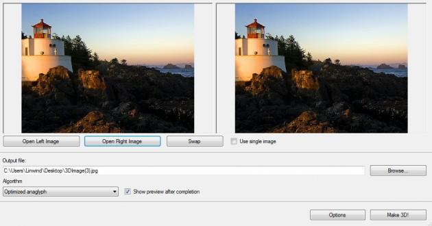 Crear imagen 3D