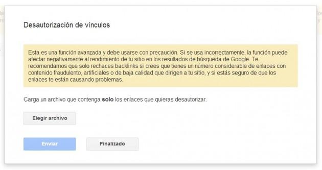 Mejorar el PageRank de Google despreciando enlaces entrantes penalizados por Google