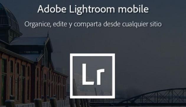 Descarga Adobe Lightroom Mobile para Android