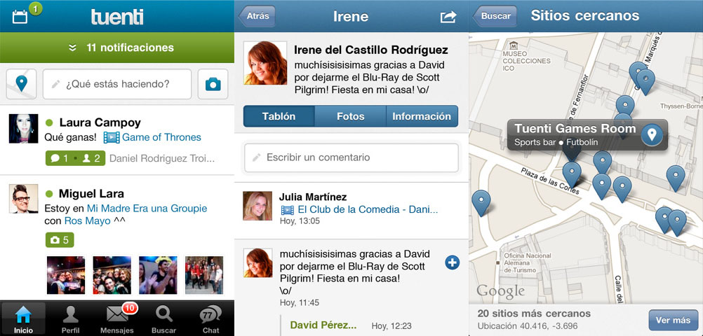 Descargar Tuenti para Iphone