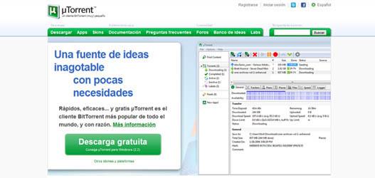 Descargar Utorrent 2.2