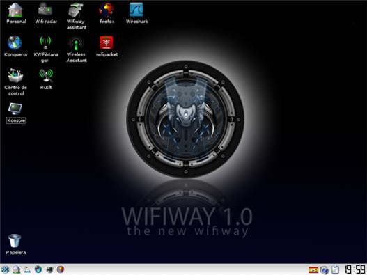 Descargar WifiWay 1.0 live cd y modulo netbooks.