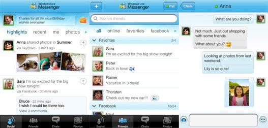 Descargar Windows Live Moviles