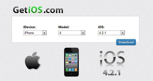 Descargar firmware para el iPhone