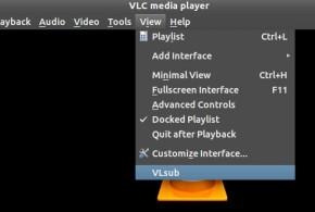 Descargar subtitulos con VLC