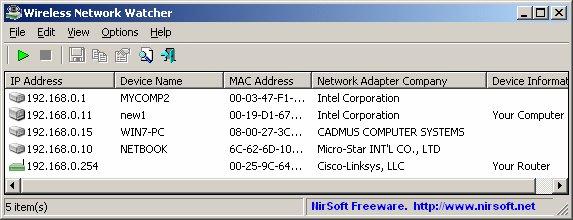 Como detectar intrusos en WiFi facilmente