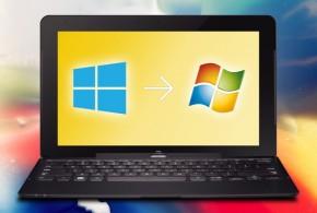Downgrade de Windows 8 a Windows 7