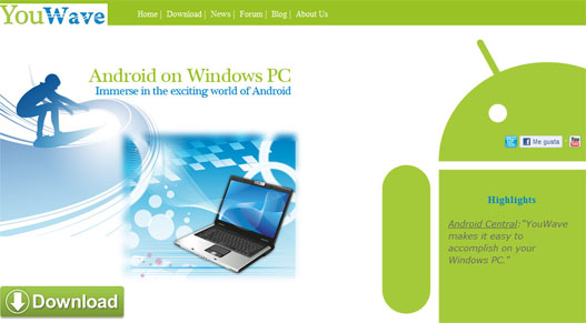 Emular android en Windows