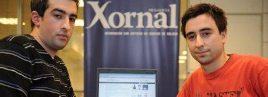 Nos entrevistan en Xornal de Galicia