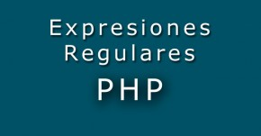 Expresiones regulares PHP
