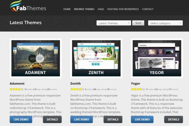 Las 5 mejores webs para descargar temas de WordPress gratis