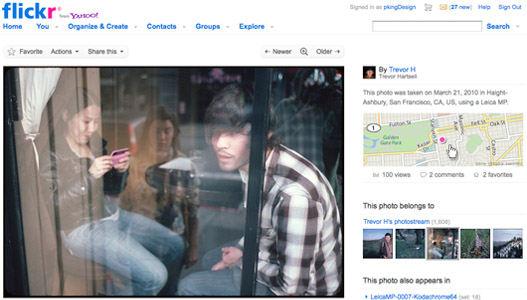 Flickr pagina de fotos