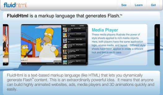 Generacion dinamica de contenido Flash