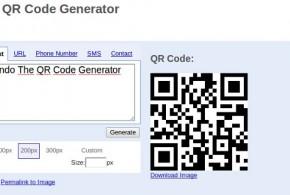 Generar codigo QR