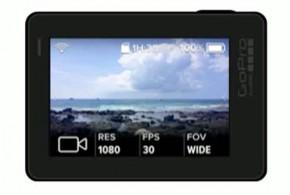 GoPro Hero 5 pantalla tactil