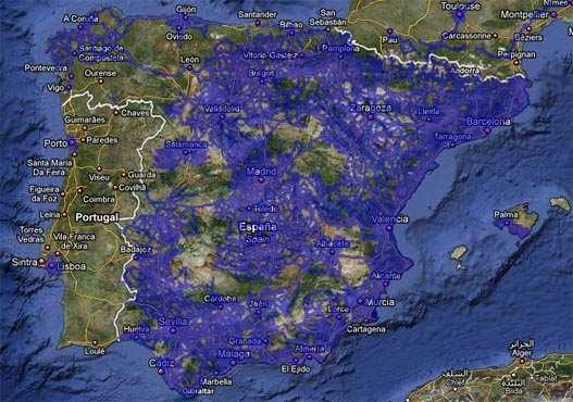 Google Street View para casi toda España