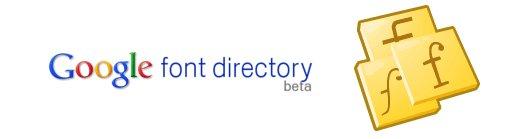 Fuentes para webs en Google Font Directory