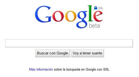 Google protege sus búsquedas con cifrado SSL
