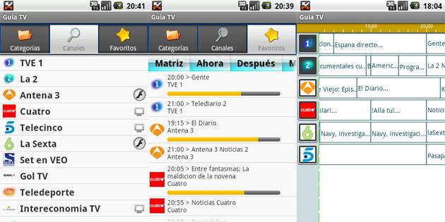 Guia TV para Android
