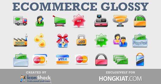 Iconos tienda online