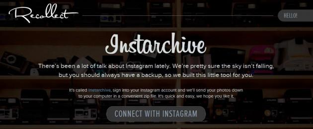 Descargar todas tus fotos de Instagram en un archivo comprimido