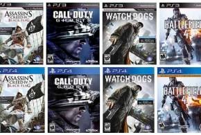 Juegos de PS3 migrados a PS4