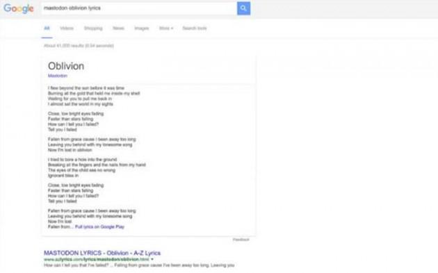 Letras buscador Google