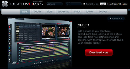 Lightworks editor de video profesional