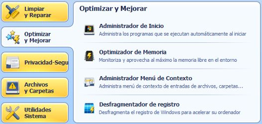 Limpiar y optimizar PC en Windows