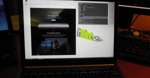 Linux Mint en ChromeBook Pixel