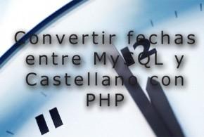 MYSQL PHP FECHAS